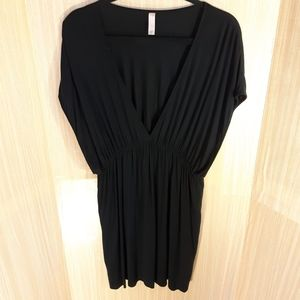 Victoria Secret black swimsuit cover up. XL